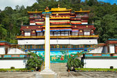 Mosteiro budista indiano — Foto Stock