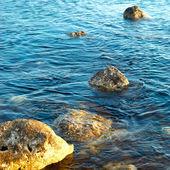 Pierres en bord de mer — Photo