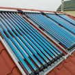 Vacuum collectors- solar water heating system — Stock Photo #49929031