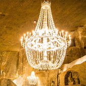 Big old chandelier — Стоковое фото