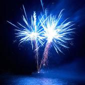 Coloratissimi fuochi d'artificio — Foto Stock