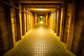 Corridor in Wieliczka — Stock Photo