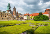 Wawel Cathedral in Krakow, Poland. — Stock Photo
