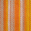 Orange fabric - Stock Photo