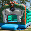 Stock Photo: Bouncy Castle