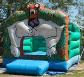Bouncy Castle — Stock Photo