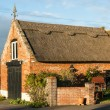 Thatched Garage — Stock Photo
