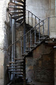 Old staircase in Tbilisi houses of 18-19 centuries, Republic of — Stock Photo