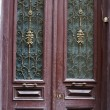 Art-Nouveau old door in Tbilisi Old town, Republic of Georgia - Foto de Stock