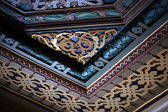 Details of interior decor in Art-Nouveau style in Tbilisi houses — Stock Photo