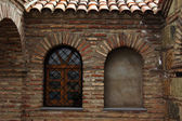 Traditional wooden carving balconies of Old Town of Tbilisi, Rep — Stock Photo