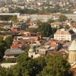 Panoramic view of Old Tbilisi, Republic of Georgia — Foto de Stock