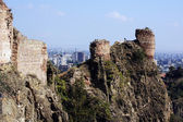 Medieval castle of Narikala — Stock Photo