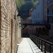 Old Tbilisi: restored area of ancient sulfur baths, Abano — Stock Photo