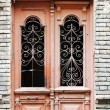 Art-Nouveau old door in Tbilisi Old town, Republic of Georgia — Stock Photo #21780297