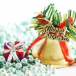Closeup of Christmas decoration — Stock Photo