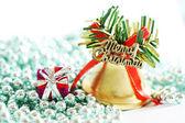 クリスマスの飾りのクローズ アップ — ストック写真