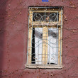 Art-Nouveau decorated window — Stock Photo