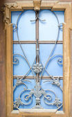 Art-Nouveau iron decoration — Stock Photo