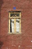 Art-Nouveau decorated window — Stock Photo