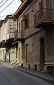 Vecchie strade di tbilisi — Foto Stock
