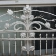 Stock Photo: Art-Nouveau iron decoration