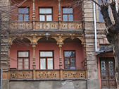 Arquitetura georgiana — Fotografia Stock