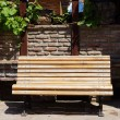 Park bench — Stock Photo #24989577