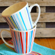 Cups for tea — Stock Photo