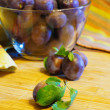 Fresh plums — Foto Stock