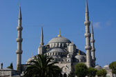 Blue mosque in Istanbul, Turkey — Stock Photo