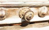 ヴィンテージ銅鍵穴 — ストック写真