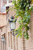 Old street lamp — Stockfoto