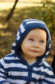 Baby boy portrait — Stock Photo