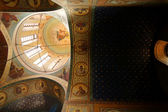 Frescos in Little Sameba cathedral in Old Tbilisi — ストック写真