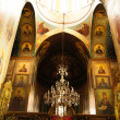 Stock Photo: Frescos in Little Samebcathedral in Old Tbilisi