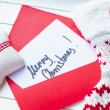 Merry Christmas note — Stock Photo #34667067