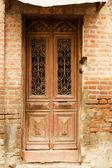 Gammal dörr — Stockfoto