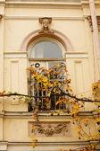 Details of Art-Nouveau decor — Stock Photo