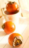 Dojrzałe persimmons — Zdjęcie stockowe