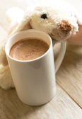 Cacao drink in the mug — Stock Photo