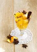 Fresh fruit juice — Stock Photo