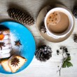 Stock fotografie: Coffee and sweets