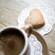 Stockfoto: Coffee and sweets