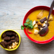 Vegetable soup — Stock Photo #40439087