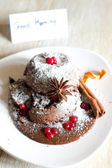 Lava cake — Stock Photo