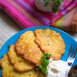 Fried potato pancakes — Stock Photo #41642535