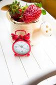 Fresh strawberry fruits — Stok fotoğraf