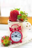 Fresh strawberry fruits — Stockfoto