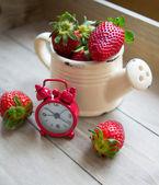 Fresh strawberry fruits — 图库照片